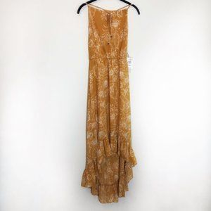 June & Hudson hi low ruffle dress xs
